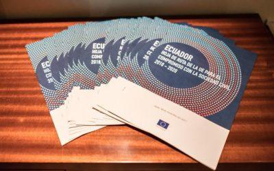 La UE lanza su Hoja de Ruta 2018-2020 para el compromiso con la Sociedad Civil de Ecuador.