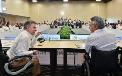 VI Gabinete Binacional Colombia – Ecuador: Declaración de Pereira
