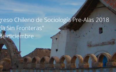 """CHILE – 10° CONGRESO CHILENO """"SOCIOLOGÍA SIN FRONTERAS"""" EN LA UNIVERSIDAD ARTURO PRAT, IQUIQUE"""