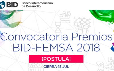 BID: CONVOCATORIA PREMIOS BID-FEMSA 2018