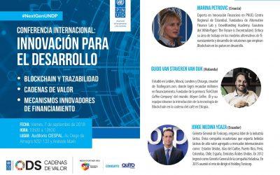 Se realizará la Conferencia Internacional de innovación para el desarrollo en Quito