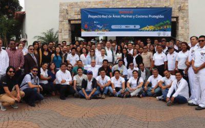 La Red de Áreas Marinas y Costeras Protegidas del Ecuador empieza un nuevo proyecto