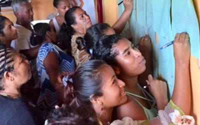Paz y Desarrollo junto a la Cooperación Española, apoyan a más de 80 mujeres en la reactivación post-terremoto