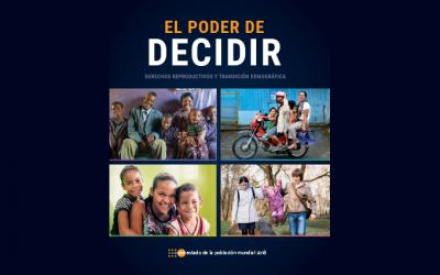 UNFPA: El poder de decidir. Estado de la Población Mundial 2018