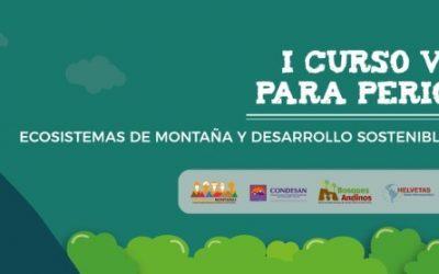 I Curso Virtual: Montañas y Desarrollo Sostenible en los Andes
