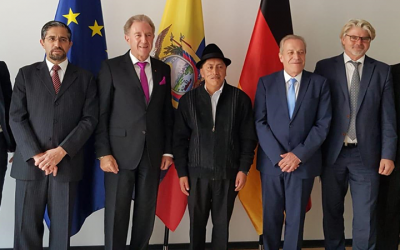 Inicia negociación intergubernamental de cooperación para el desarrollo entre Ecuador y Alemania
