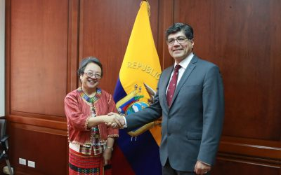La Relatora Especial de Naciones Unidas sobre los derechos de los Pueblos Indígenas visita EcuadorLa Relatora Especial de Naciones Unidas sobre los derechos de los Pueblos Indígenas visita Ecuador