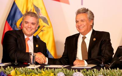 Se realizó el Encuentro Presidencial y VII Gabinete Binacional Ecuador – Colombia