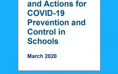 Organización Mundial de la Salud: La FICR, UNICEF y la OMS publican una guía para proteger a los niños y apoyar la seguridad en las operaciones escolares por el COVID-19
