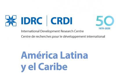 IDRC: Mensaje del Director Regional en su 50 aniversario