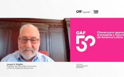 CAF. COVID-19 evidencia las limitaciones de los mercados y la relevancia de los bancos de desarrollo: Stiglitz