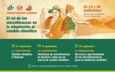Helvetas-Fundación Avina: Conversatorios «El rol de las microfinanzas en la adaptación al cambio climático»